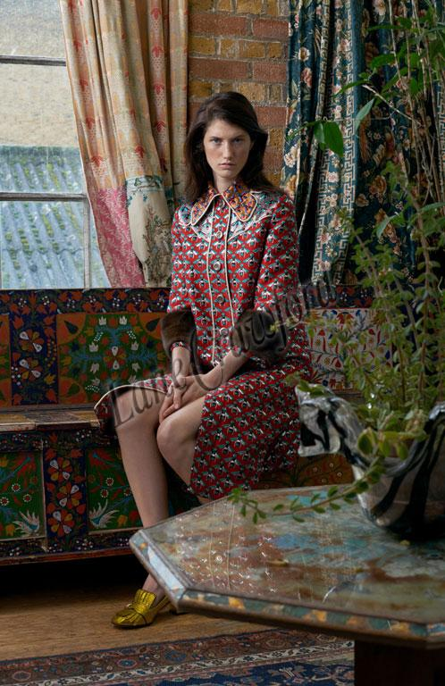 e981c1fc65d It's a new dawn at Gucci. With the unexpected appointment of Alessandro  Michele as creative director early last year, the Italian uber-brand's  collections ...