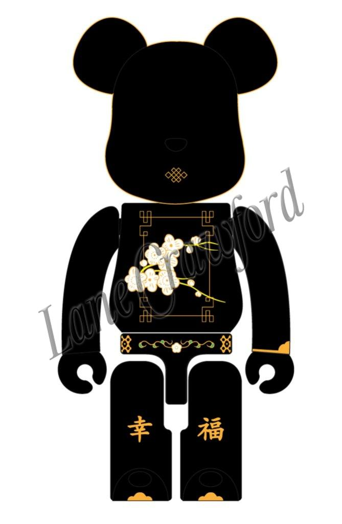 """b22737d1 Xiamen-based Chinese brand Ms Min, as part of Lane Crawford's """"Created in  China"""" programme is invited to style up one of the 1.4 m tall Be@rBricks."""